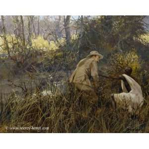 John Seerey Lester   Kudu Kudu Canvas Giclee