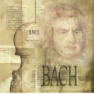 to Bach   Poster by Marie Louise Oudkerk (11.8x11.8): Home & Kitchen