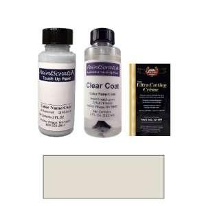 2 Oz. Satin Metal Silver Metallic Paint Bottle Kit for