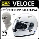 SC608 OMP VELOCE FULL FACE HELMET S 55 57cm BSI BLUE LABEL TYPE A