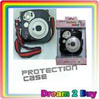 Fujifilm Fuji Instax Mini 25 Camera Black Protection Case Bag