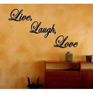 Live Laugh Love Decal Quote Lettering Home Vinyl Wall Art