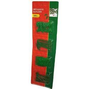 Club Pack Of 300 Green Christmas Ornament Hooks 2.5 & 1