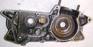 75 KAWASAKI KX250 KX 250 ENGINE CRANKCASES CRANK CASE