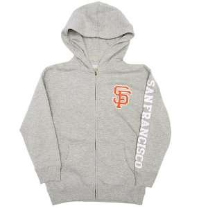 San Francisco Giants Youth Zip Hood By Soft As A Grape