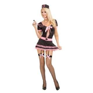 Midnight Nurse Womens Sexy Halloween Costume