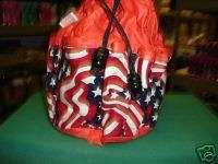 BINGO BAG SALE FLAG DESIGN RED