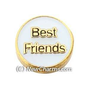 Best Friends Floating Locket Charm Jewelry