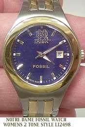 Notre Dame Fossil Ladies Watch Fossil womens LI2498 New 691464192068