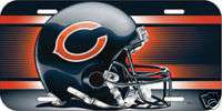 CAR/AUTO LICENSE PLATE CHICAGO BEARS NFL FOOTBALL