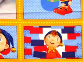 New Noddy Fabric Panel Toy Town Car Airplane Quilting Treasures 23