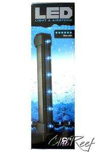 LED Light Strip Aquarium Air Bubble Curtain 6 Blue