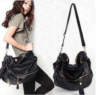 2011 New hot PU leather lady Shoulder Bag Handbag tote