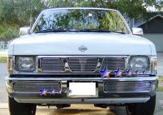 Billet Grille Insert 1995 1996 1997 Nissan Pickup Hardbody Front Upper
