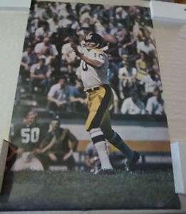 1969 Sports Illustrated Kent Nix football Poster em nm