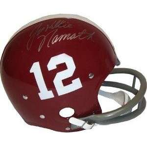 Joe Namath signed Alabama Crimson Tide RK Style Historic Throwback