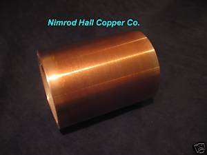 Nimrod Hall Copper Foil Sheet 8 mil. x 12 x 67 roll S