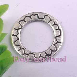 FREE SHIP 200pcs Tibetan Silver Ring Connectors EC7172 21mm