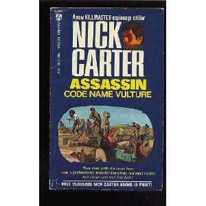 Assassin Code Name Vulture Nick Carter Books