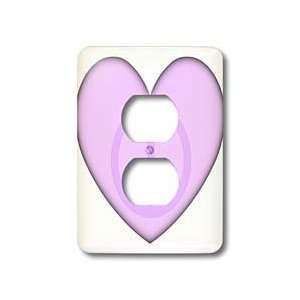Patricia Sanders Creations   Peaceful Heart  Love  Pink Art   Light
