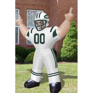New York Jets NFL 8 Inflatable Tiny Player Blow Up Lawn Figure