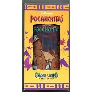 Burger King Disney Pocahontas Glass Powhatan & Kococum