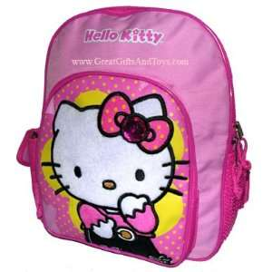 Hello Kitty Girls Pink School Backpack Small Toys & Games
