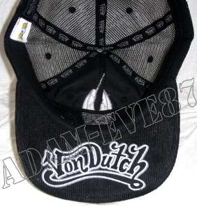 VON DUTCH TRUCKER HAT BASEBALL CAP ORIGINALS ASSORTED
