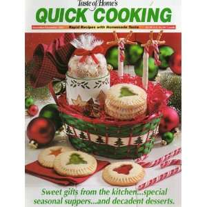 of Homes Quick Cooking (November/December 2002, 5) Kathy Pohl Books