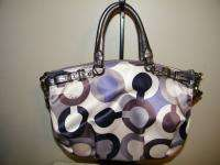 Coach Madison Graphic Sequins Op Art Signature 19179 Multi FREE