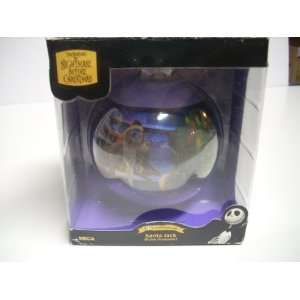 Nightmare Before Christmas Santa Jack Globe Ornament