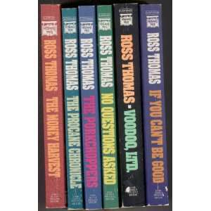 Ross Thomas (Six Book Set, Suspense Series) Ross Thomas Books