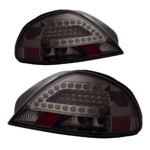 1999 2005 Pontiac Grand Am KS LED Red/Clear Tail Lights