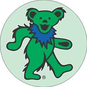 Grateful Dead Green Dancing Bear Mini Magnet BM 0075