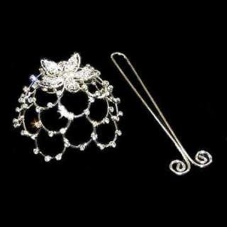 Starcage Swarovski Crystal Rhinestone Bun Cage Cover
