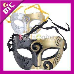 Dress Cool Men Eye Mask Style Halloween Masquerade Party Prop