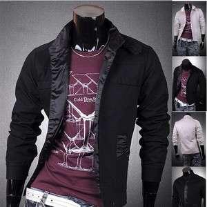 Designer Slim Jacket Blazer Coat Shirt Stylish Fashion S M L XL 8906