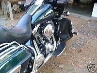 HARLEY FLT ROADGLIDE ENGINE GUARD SOFT LOWERS CHAPS #1
