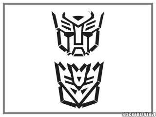 Transformers Movie Logo Decal Vinyl Sticker (2x)