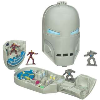MARVEL IRON MAN 2 MOVIE MICRO PLAYSET MONGER HASBRO