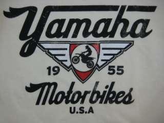 YAMAHA MOTORBIKES MOTORCYCLE 1955 RETRO SHIRT S/M/L/XL
