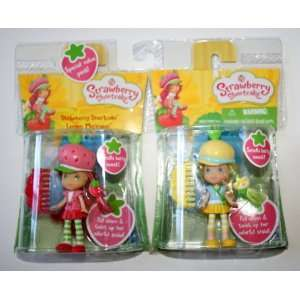 Strawberry Shortcake & Lemon Meringue Mini Figure Playset