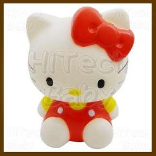 Hello Kitty RED Coin Piggy Bank / Money Box 4 Figure