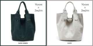 KOREA] NEW Genuine Leather Shoulder Tote Hand Bag Purse   MONOS