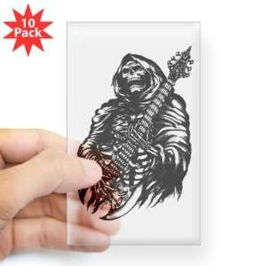 Rectangle 10Pk) Grim Reaper Heavy Metal Rock Player