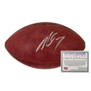 Michael Vick Hand Signed Autographed Official NFL Leather Football