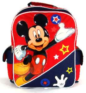 Mickey Mouse backpack school bag 16 Large Disney new