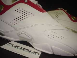 2004 OG Nike Zoom MICHAEL VICK Low WHITE BLACK VARSITY RED SILVER DS
