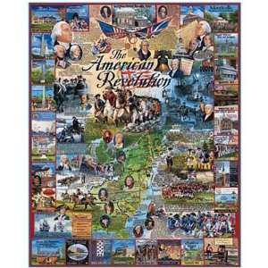American Revolution 1000 Piece Jigsaw Puzzle Toys & Games