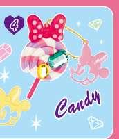 Re ment Disney Minnie Cupcake Chocolate Ice Cream Candy Keychain #3